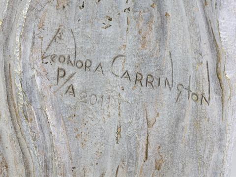 Leonora Carrington, Obra, La auténtica virgen de la cueva, acervos, Arte Hoy, Galería