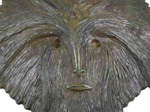 Leonora Carrington, Obra, Máscara de la diosa emplumada, acervos, Arte Hoy, Galería