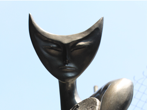 Leonora Carrington, Obra, tamborilera, acervos, Arte Hoy, Galería
