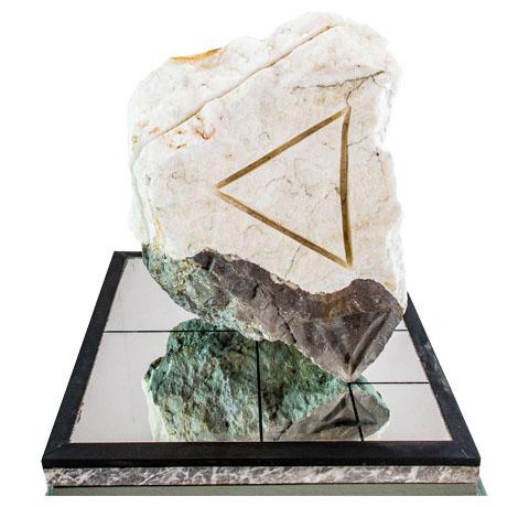 Alfonso de Pablos y Vélez, Obra, Diálogo con una piedra para cimiento, Arte Hoy, Galería