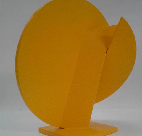 Pablo Olivera, Obra, Circulo amarillo I, Arte Hoy, Galería