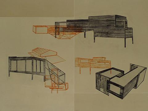 Emilio Said, Obra, Blueprint II, Arte Hoy, Galería