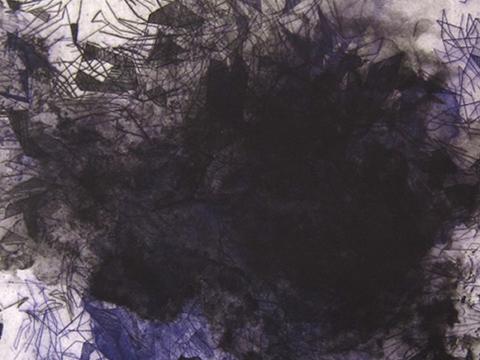 Ernesto Alva, Obra, Devorando, espacio interior, Violeta, Arte Hoy, Galería