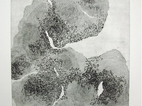 Ernesto Alva, Obra, Médula II, Arte Hoy, Galería