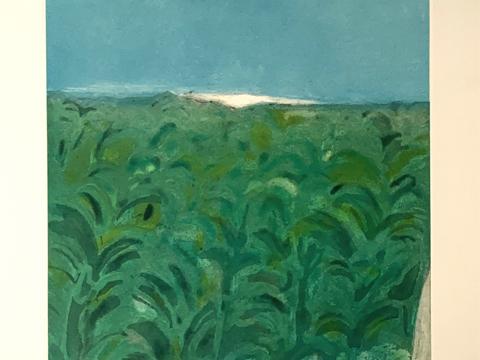Joy Laville, Obra, Paisaje, Verde, Arte Hoy, Galería