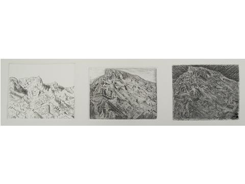 Pilar Bordes, Obra, Cascade, Sainte Victoire, Arte Hoy, Galería