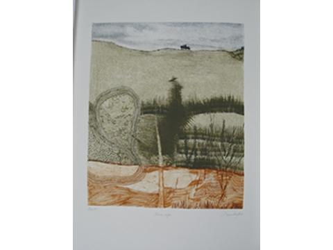 Pilar Bordes, Obra, Tierra, roja , Arte Hoy, Galería