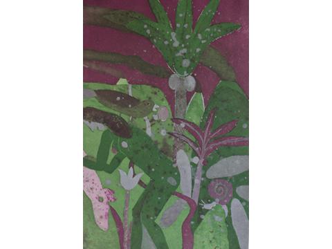 Roger von Gunten, Obra, Desnudo palmera, volcanes, Arte Hoy, Galería