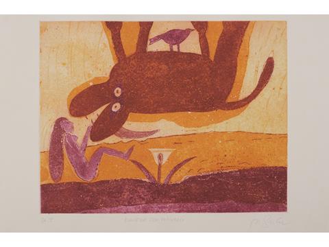 Roger von Gunten, Obra, Doncella, unicornio, Arte Hoy, Galería
