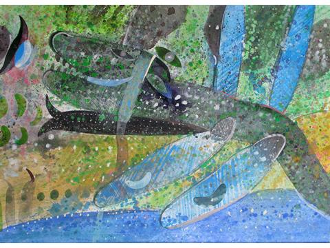 Roger von Gunten, Obra, dragón, alado, Arte Hoy, Galería