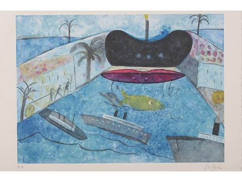 Roger von Gunten, Obra, Puerto, Boca, Manzana, Arte Hoy, Galería
