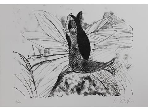 Roger von Gunten, Obra, Sirena, pez, Arte Hoy, Galería