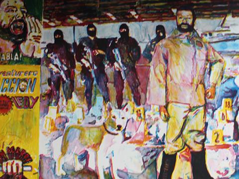 Sergio Ricaño, Obra, Equipo, antinarcóticos, Arte Hoy, Galería