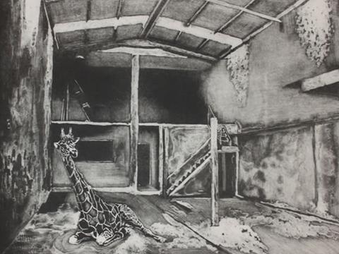 Sergio Ricaño, Obra, Jirafa, Arte Hoy, Galería