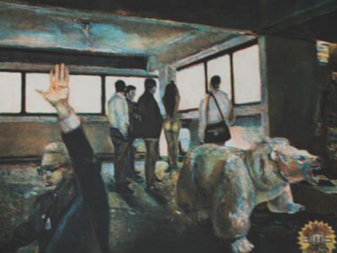 Sergio Ricaño, Obra, Oso polar, Arte Hoy, Galería
