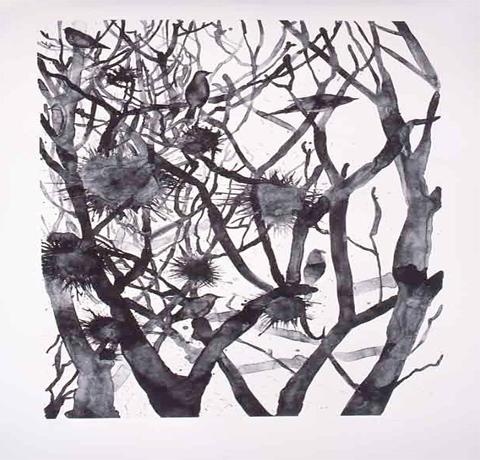 Yuko Sasai, Obra,Sonido del Atardecer II , Arte Hoy, Galería