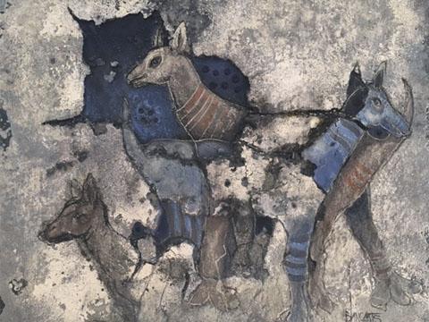 Álvaro Blancarte, Obra, Cueva azul, Arte Hoy, Galería