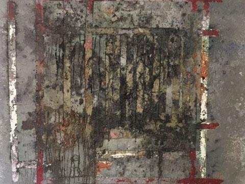 Álvaro Blancarte, Obra, Mi ventana roja, Arte Hoy, Galería