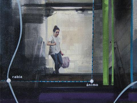 Diana Salazar, Ánimo bajando escalera, Arte Hoy, Galería