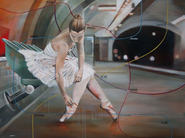 diana salazar, colaboraciones, pintura, arte hoy, galeria, cdmx