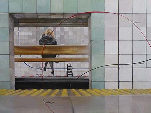 Diana Salazar, Obra, Estación, dicha, Arte Hoy, Galería