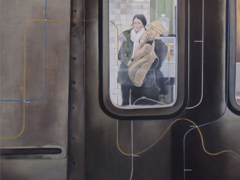 Diana Salazar, Obra, Línea Dorada, Arte Hoy, Galería