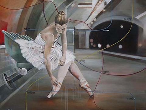 Diana Salazar, Obra, Línea, ensayo, Arte Hoy, Galería