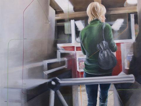 Diana Salazar, Torniquete, Arte Hoy, Galería