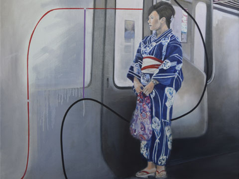 Diana Salazar, Tren Kamakura I, Arte Hoy, Galería