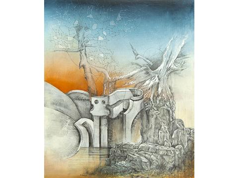 Ignacio Salazar, Obra, Árbol, Constelación, Arte Hoy, Galería