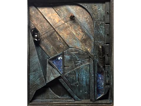 Ignacio Salazar, Obra, hotel, vidrios, rotos, Bayon, Arte Hoy, Galería