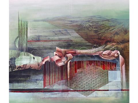 Ignacio Salazar, Obra, Red, Albán, Arte Hoy, Galería