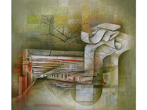 Ignacio Salazar, Obra, Túnel, Oriente, Arte Hoy, Galería