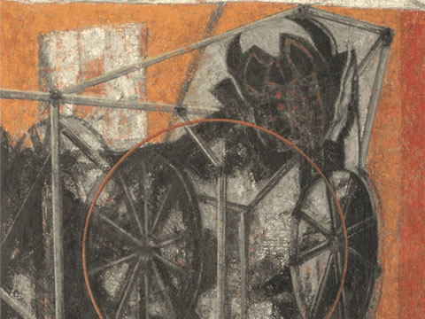 Ismael Guardado, Obra, Minotauro de feria, Arte Hoy, Galería