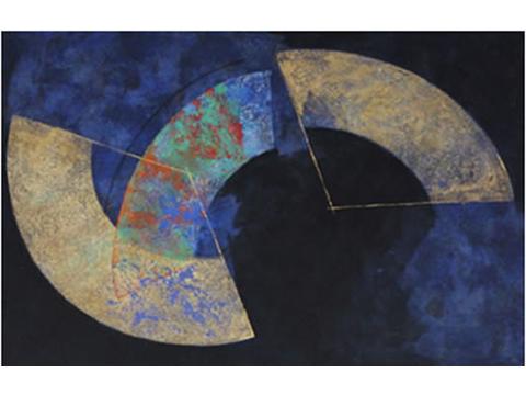 Kunio Iezumi, Obra, abanicos, espacio, Arte Hoy, Galería