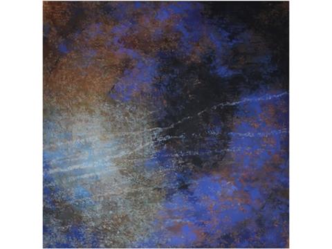 Kunio Iezumi, Obra, Movimientos, círculo, azul, Arte Hoy, Galería