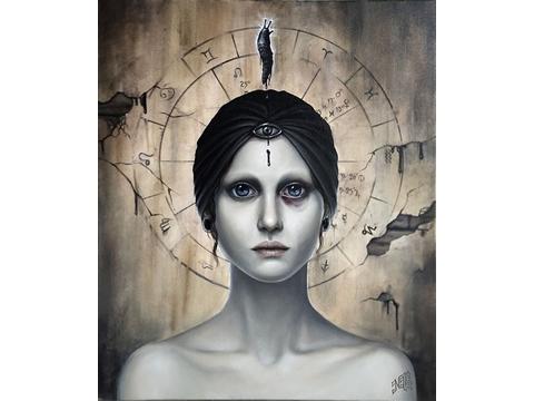 NABS D, Nabila, Obra, Nigrum, Lux, Arte Hoy, Galería