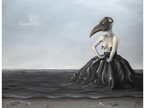 NABS D, Nabila, Obra, Yersinia Pestis of the Soul, Arte Hoy, Galería