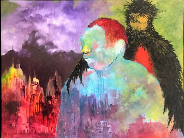 Siegrid Wiese, colaboraciones, pintura, arte hoy, galeria, cdmx