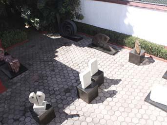 espacios, patio escultura, arte hoy, coyoacan, cd